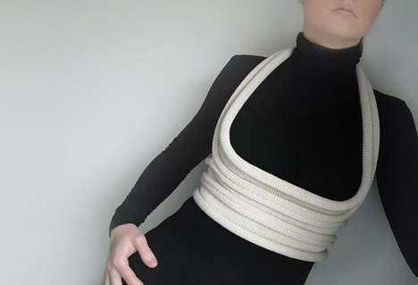 Knitted Body Harness