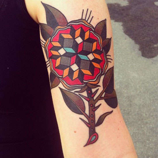 Classic Geometric Tattoos