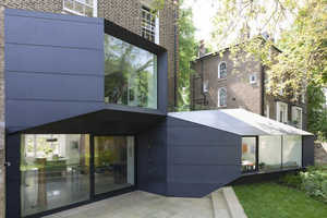 The Residential Extension by Alison Brooks Architects is Modern