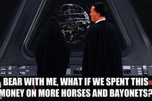 The Horses and Bayonets Blog Takes a Political Zinger to Escalated Hilarity