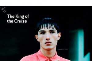 The Used Magazine Kim Jones Editorial Shows Louis Vuitton Clothing