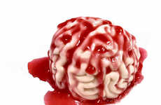 Gruesome Gut-Wrenching Cleansers - This Bloody Brain Soap Makes the Bathroom a Gory Spot