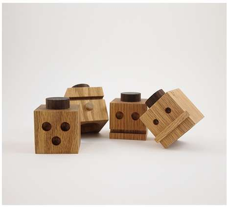 Notched Block Toys - The Totems Series One by Dino Sanchez is Made for All Ages