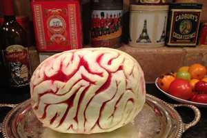 The Watermelon Brain is a Healthy Snack Alternative for Halloween