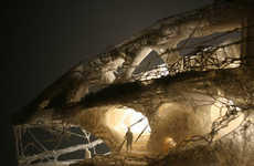 3D-Printed Cave Constructions