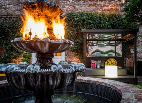 Lavish Ablaze Hotels - The W Hotel New Orleans French Quarter is Obsessed with Fiery Tones