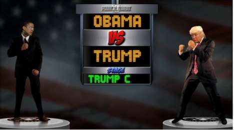 Obama Trump Rivalry