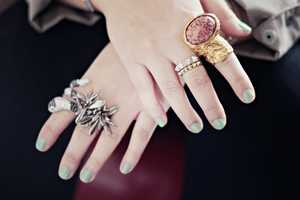 The YSL Arty Rings are Chic and Whimsical
