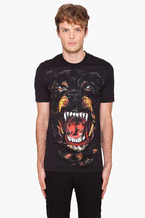 Givenchy Rottweiler print 