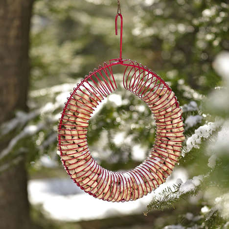 Peanut Wreath Bird Feeder