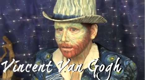 Be a Renowned Vincent Van Gogh With This DIY Halloween Costume