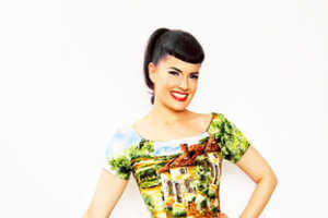 The Fun Printed Bernie Dexter Dresses Have Timeless Style
