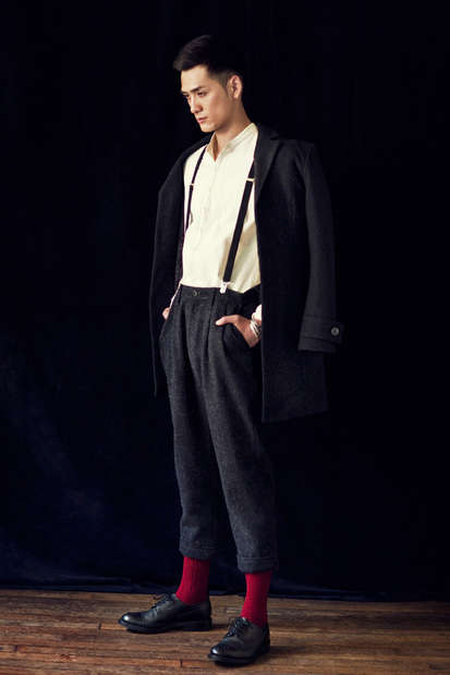 Old-Fashioned Tokyo Menswear - The STUDIOUS 2012 Fall/Winter Collection Carries Japanese Labels