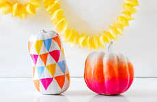 DIY Chic Jack-O-Lanterns
