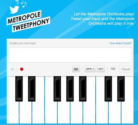 Tweeting Concert Websites - Become a Musical Genius Using the Metropole Tweetphony Site