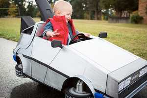 This Back to the Future Baby Costume is 1.21 Gigawatts of Awesome