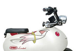 The Itaponko Electric Scooters Commorate the Magi Madoka Magica Films