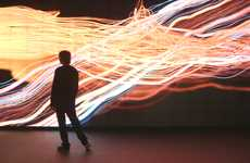 Oceanic Video Installations - The 1 of 18 Made by Humans Video Loop is Magical