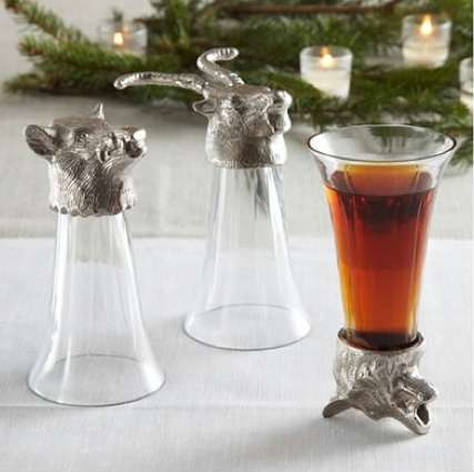 Wild Beast Shot Glasses