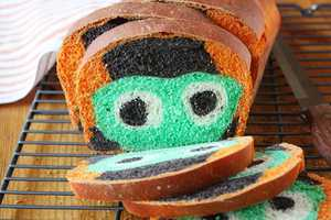 The Monster Bread Adds a Tasty Scare to Your Halloween Brunch