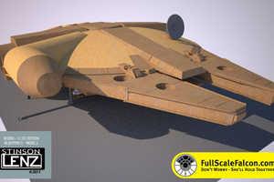 The Full-Scale Millennium Falcon Replica is a Star Wars Fan's Dream