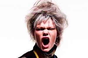 The Razor Red 'Tom Boy Kelly' Photoshoot is Combative