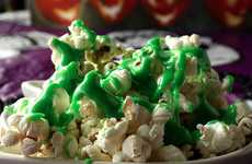 The Ectoplasm Slimed Popcorn Goes Perfectly with a Scary Movie