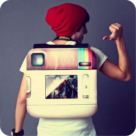 Photo-Sharing App Outfits - Be a Literal Stereotype with the Instagram Hipster Halloween Costume