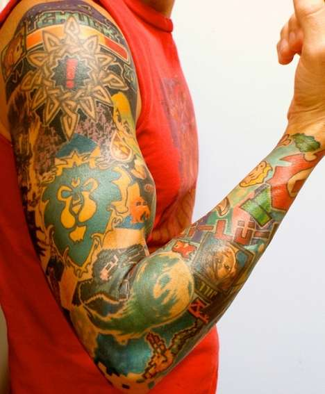 Gamer Sleeve Tattoo
