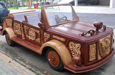Mythical Wooden Vehicles