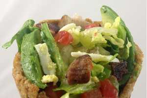 The Crouton Cone Cobb Salad is a Nutrient Rich Treat