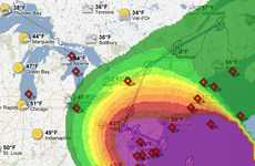 The Hurricane Sandy Crisis Map Helps to Prepare for This Natural Disaster