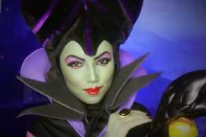 The Maleficent Makeup Transformation is a Great Halloween DIY