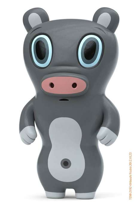 Manga Mashup Animal Toys - Hiroshi Yoshii Debuts His New Mutated 3D Art Toy Collection