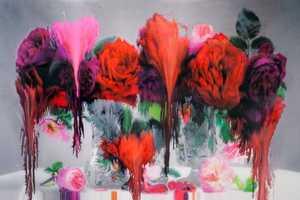 The Nick Knight 'Flora' Series Expresses Destruction & Realism Ideology