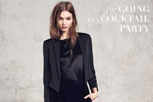 The Mango Winter 2012 Collection Features a Seductive Karlie Kloss