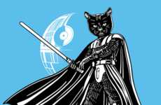 Captain Feline Blends Pop Culture and Cats