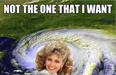 Viral Starlet Storm Memes - The Hurricane Sandy Memes are Hopelessly Devoted to Humor