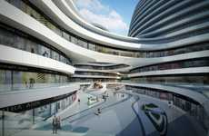 Sinuous Futuristic Malls