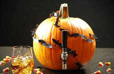 The Pumpkin Beer Keg is Appropriate for Halloween Parties