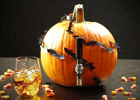 Pumpkin Beer Keg