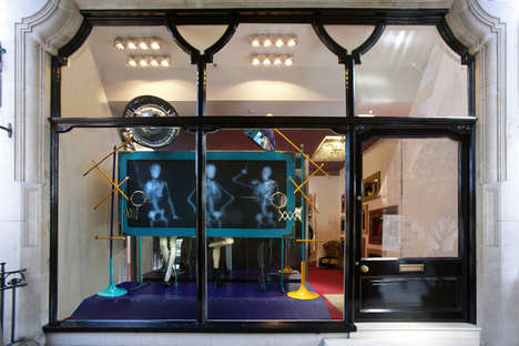 Christian Louboutin X-Ray Windows