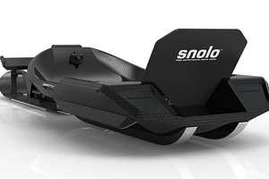 The Snolo Stealth-X is So Light That It Can be Carried as a Backpack