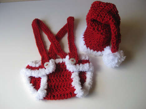 Baby Santa Outfit