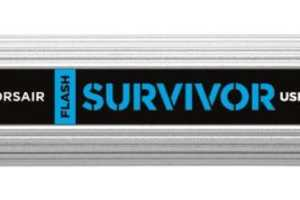 The Corsair Survivor USB Protects Your Data from Everything