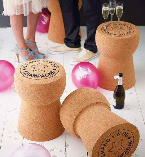 Champagne Cork Furniture