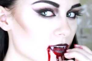 The 'Gothic Vampire Makeup Tutorial' Instructs Viewers on Dark Beauty