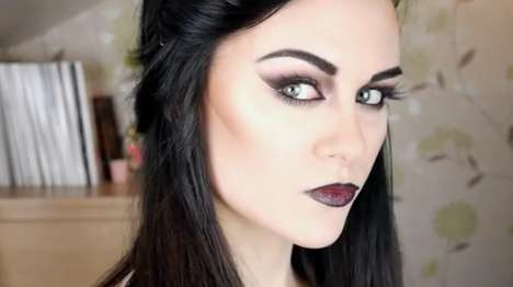 Gothic Vampire Makeup Tutorial
