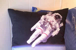 Geography Handmade makes Out of this World Screen Printed Pillows