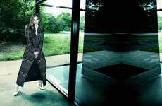 Kelsey Van Mook for Elle Canada is Clad in Stylish Coats